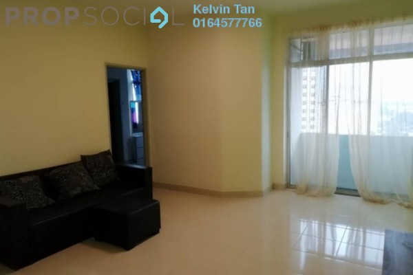 For Rent Apartment at Ixora Heights, Sungai Nibong Freehold Semi Furnished 3R/2B 1k
