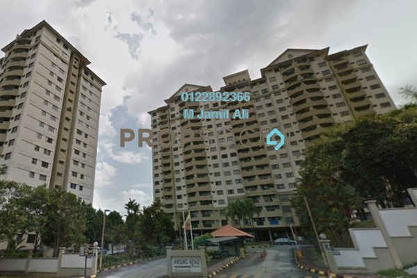 For Rent Condominium at Anjung Hijau, Bukit Jalil Freehold Fully Furnished 2R/2B 1.2k
