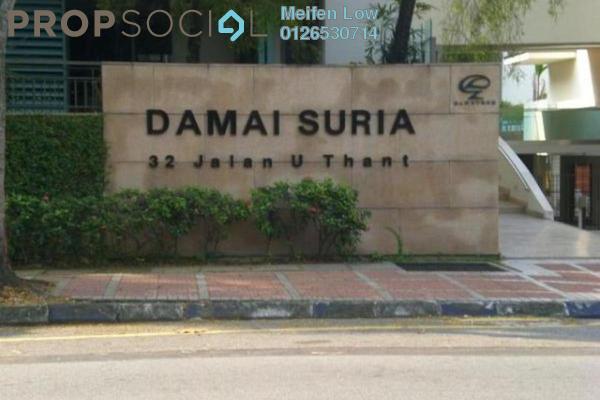 For Rent Condominium at Damai Suria, Ampang Hilir Freehold Semi Furnished 3R/3B 6k