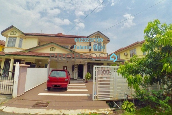 For Sale Semi-Detached at Taman Putra Perdana, Puchong Leasehold Semi Furnished 4R/3B 490k