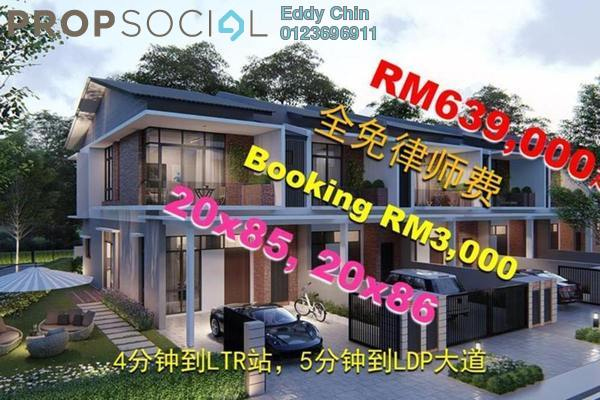 For Sale Terrace at Taman Puchong Prima, Puchong Leasehold Unfurnished 4R/4B 689k