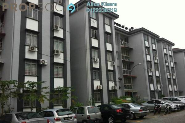For Rent Apartment at Goodyear Court 6, UEP Subang Jaya Freehold Semi Furnished 3R/2B 1.2k