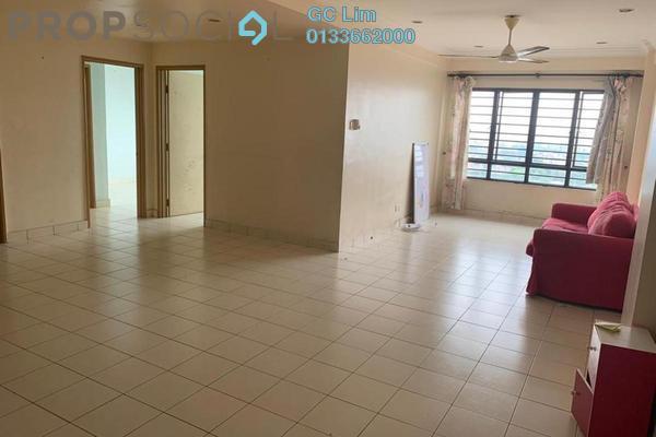 For Rent Condominium at Glen View Villa, Cheras Freehold Semi Furnished 3R/2B 1.2k