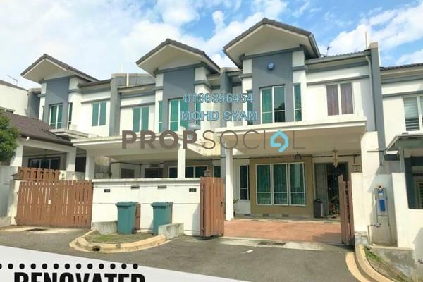 For Sale Terrace at Suakasih, Bandar Tun Hussein Onn Freehold Semi Furnished 5R/4B 880k