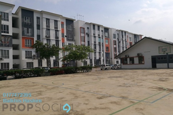 For Rent Apartment at Orchis Apartment, Klang Freehold Unfurnished 3R/2B 850translationmissing:en.pricing.unit