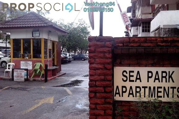 For Rent Apartment at Sea Park Apartment, Petaling Jaya Freehold Unfurnished 2R/1B 1.2k