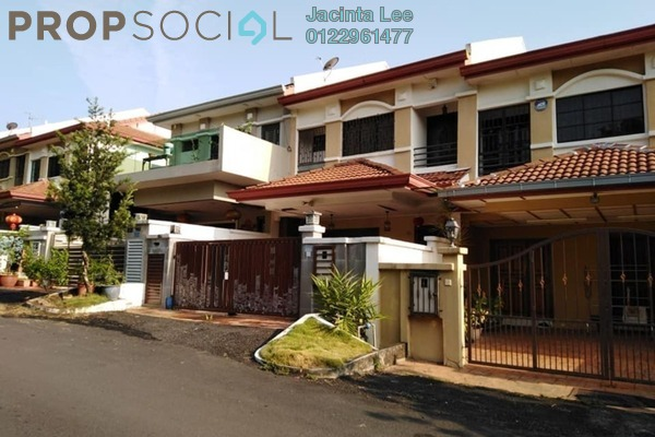 For Sale Terrace at Bandar Damai Perdana, Cheras South Freehold Semi Furnished 4R/3B 474k