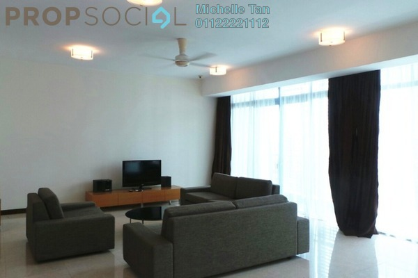 For Rent Condominium at Hampshire Residences, KLCC Freehold Fully Furnished 4R/5B 9.5k
