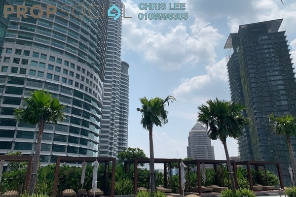 For Sale Condominium at Four Seasons Place, KLCC Freehold Semi Furnished 2R/2B 5.4m
