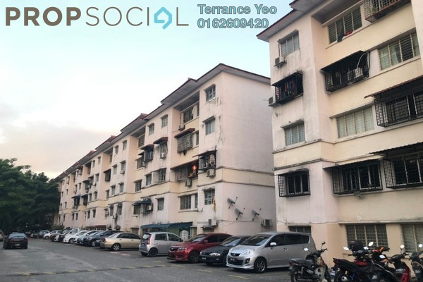 For Sale Apartment at Sri Begonia Apartment, Bandar Puteri Puchong Freehold Semi Furnished 3R/2B 155k