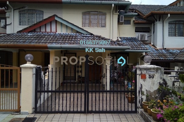 For Rent Link at Taman Sri Bahagia, Cheras South Freehold Semi Furnished 3R/2B 1.1k