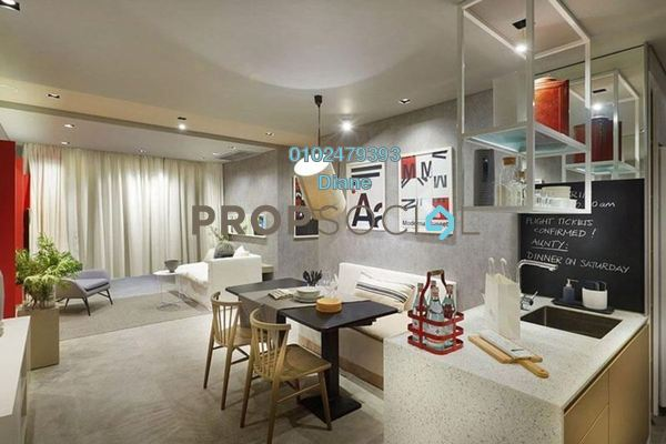 For Sale Serviced Residence at The Gardens, Mid Valley City Freehold Fully Furnished 1R/1B 470k