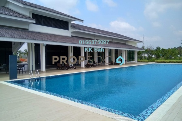 For Sale Terrace at M Residence 2, Rawang Freehold Unfurnished 4R/3B 438k