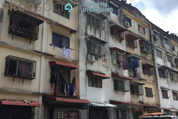For Rent Apartment at Taman Cheras Awana, Cheras Freehold Semi Furnished 2R/1B 600translationmissing:en.pricing.unit
