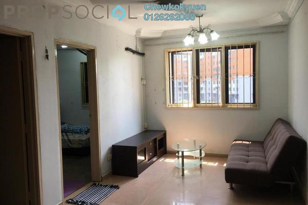 For Rent Apartment at Sri Penara, Bandar Sri Permaisuri Freehold Fully Furnished 3R/1B 1.3k
