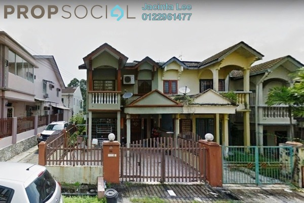 For Sale Terrace at Taman Wangsa Permai, Kepong Freehold Semi Furnished 5R/3B 729k
