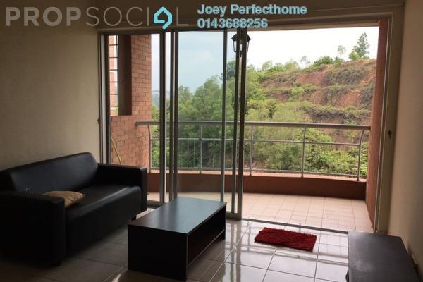 For Rent Condominium at Greenview Residence, Bandar Sungai Long Freehold Semi Furnished 3R/3B 1.35k