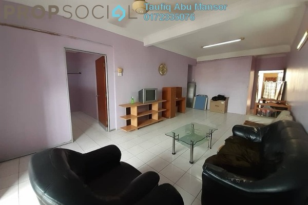 For Sale Apartment at Sri Raya Apartment, Kajang Freehold Semi Furnished 4R/3B 380k