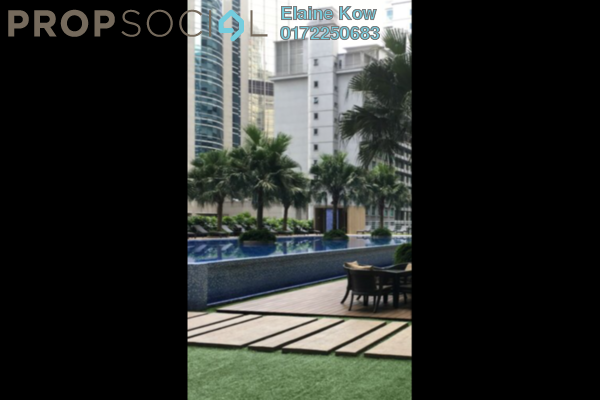 For Sale Condominium at 188 Suites, KLCC Freehold Fully Furnished 1R/1B 1.13m