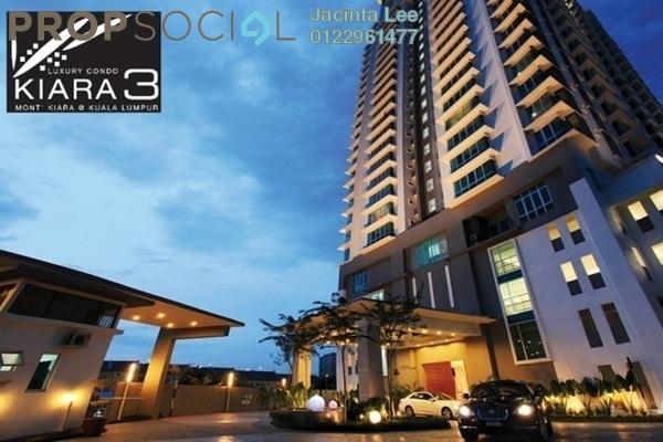 For Sale Condominium at Aston Kiara 3, Mont Kiara Freehold Fully Furnished 3R/3B 547k