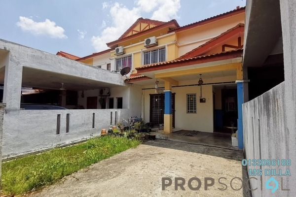 For Sale Terrace at Seri Pristana, Sungai Buloh Freehold Unfurnished 4R/3B 380k
