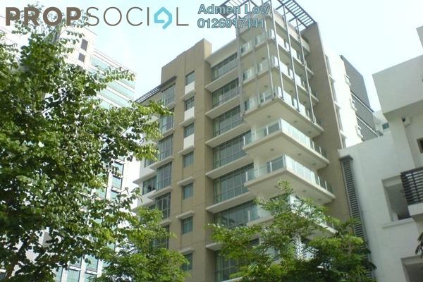 For Rent Condominium at Seri Hening Residence, Ampang Hilir Freehold Semi Furnished 2R/2B 10k