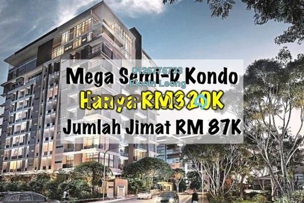 For Sale Condominium at Taman Kajang Mewah, Kajang Freehold Semi Furnished 4R/2B 330k