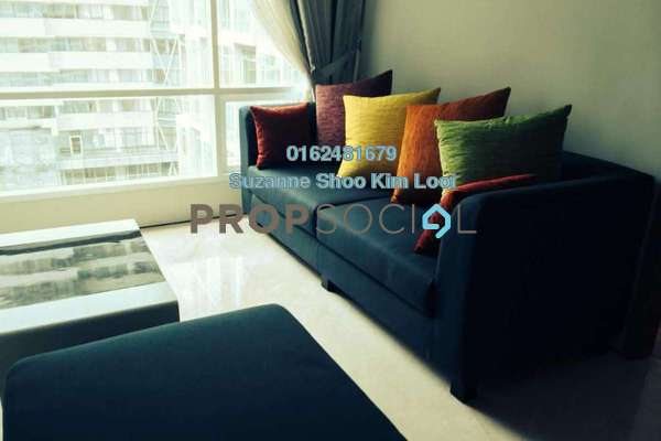 For Rent Condominium at Soho Suites, KLCC Freehold Fully Furnished 2R/2B 3.8k