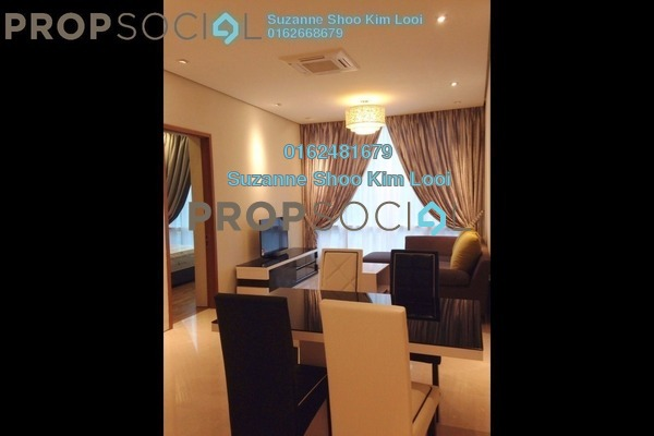 For Rent Condominium at Soho Suites, KLCC Freehold Fully Furnished 2R/2B 3.9k
