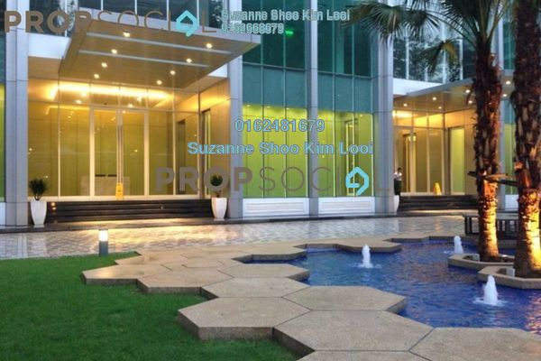 For Rent Serviced Residence at Soho Suites, KLCC Freehold Fully Furnished 2R/1B 3.5k