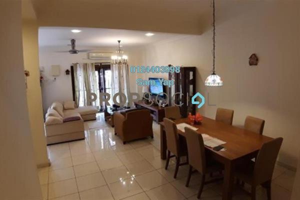 For Sale Terrace at Seksyen 9, Bandar Bukit Mahkota Freehold Semi Furnished 4R/3B 680k