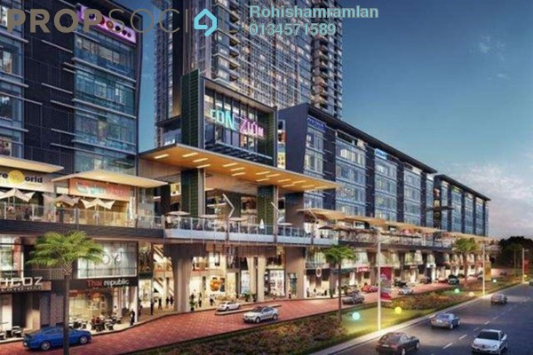 For Rent Shop at Conezión, IOI Resort City Freehold Unfurnished 0R/0B 3.96k