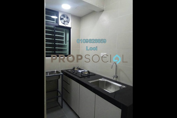 For Rent Condominium at Danau Kota Suite Apartments, Setapak Freehold Unfurnished 3R/2B 1.4k