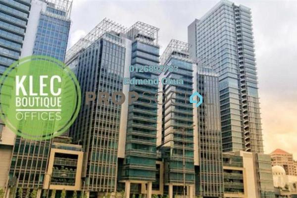 For Rent Office at KL Eco City, Mid Valley City Freehold Unfurnished 0R/0B 17.9k