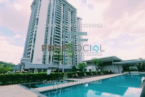 For Sale Condominium at Serin Residency, Cyberjaya Freehold Unfurnished 3R/3B 383k