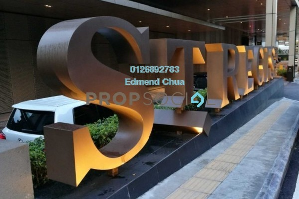 For Rent Serviced Residence at St Regis Residences, KL Sentral Freehold Fully Furnished 2R/2B 16.5k