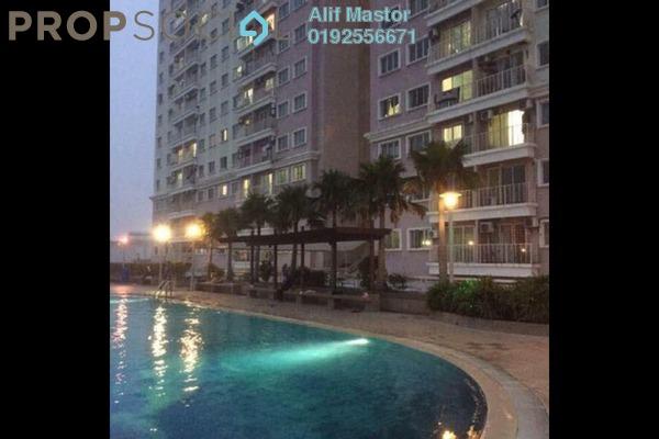 For Rent Condominium at Juta Mines, Seri Kembangan Freehold Fully Furnished 3R/2B 1.1k
