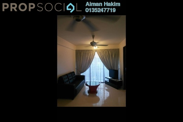 For Rent Condominium at Cyberia SmartHomes, Cyberjaya Freehold Fully Furnished 3R/2B 1.35k
