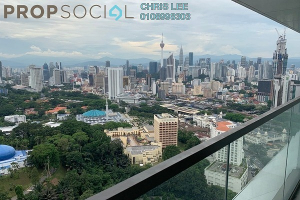 For Sale Condominium at The Sentral Residences, KL Sentral Freehold Semi Furnished 3R/3B 2.1m