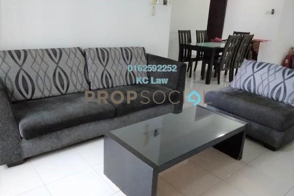 For Rent Serviced Residence at Casa Tiara, Subang Jaya Freehold Fully Furnished 3R/2B 2.4k