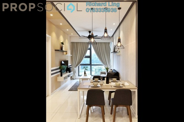 For Rent Condominium at The Robertson, Pudu Freehold Fully Furnished 2R/2B 4.2k
