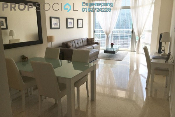 For Rent Condominium at Idaman Residence, KLCC Freehold Fully Furnished 2R/2B 3.2k