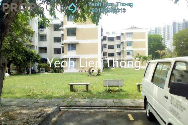 For Sale Apartment at Mawar Apartment, Sungai Nibong Freehold Semi Furnished 3R/2B 470k