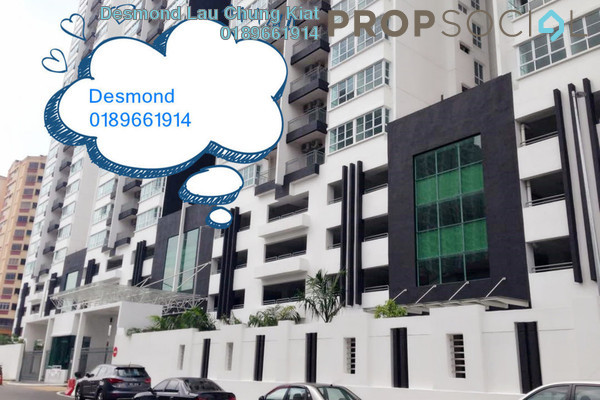 For Sale Condominium at 288 Residences, Kuchai Lama Freehold Semi Furnished 4R/4B 650k