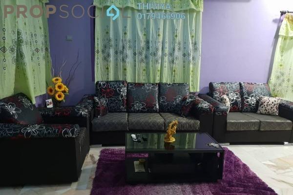 For Sale Terrace at Taman Sentosa, Klang Freehold Semi Furnished 4R/3B 580k