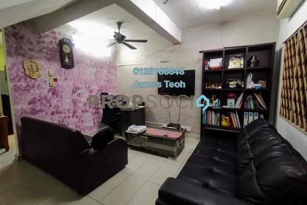 For Sale Terrace at Taman Sri Muda, Shah Alam Freehold Semi Furnished 4R/3B 465k