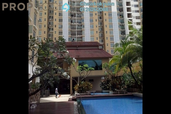 For Rent Condominium at Villa Park, Seri Kembangan Freehold Semi Furnished 4R/2B 1.2k