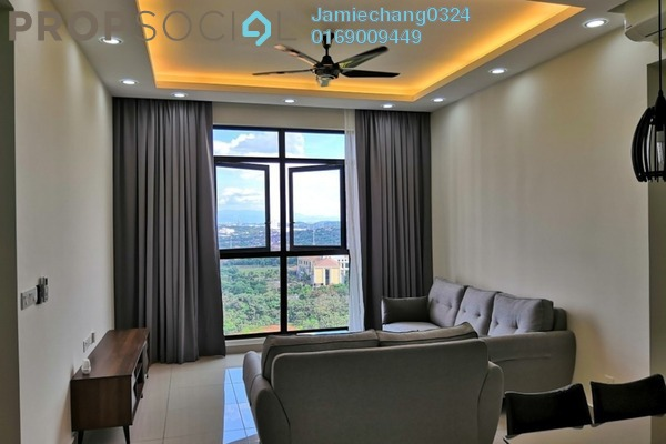 For Rent Condominium at Conezión, IOI Resort City Freehold Fully Furnished 3R/2B 2.2k