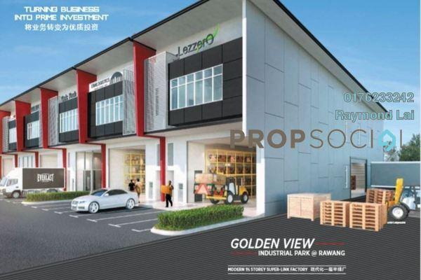 For Sale Factory at Bandar Tasik Puteri, Rawang Freehold Unfurnished 0R/4B 1.28m