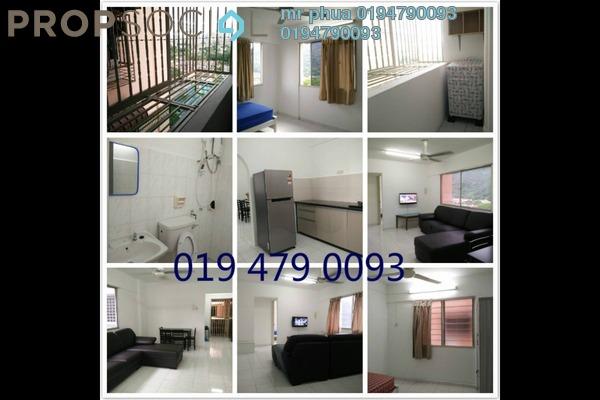 For Rent Apartment at Taman Pekaka, Sungai Dua Freehold Fully Furnished 3R/2B 1.3k